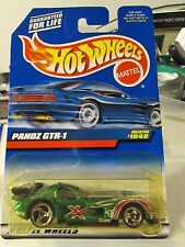 Hot Wheels Panoz GTR-1 #1040 Green!