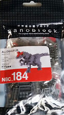 Allosaurus dinosaur Nanoblock Miniature Building Blocks New Sealed Pk Nbc 184