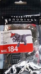 Allosaurus dinosaur Nanoblock NBC 184