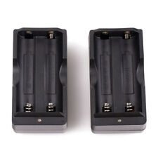 2PC 18650 Battery Dual Charger For 18650 3.7v Li-ion BRC Rechargeable Battery