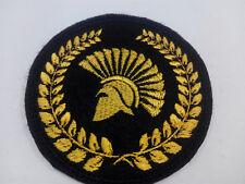 Parche bordado para coser 7,5 cm Casco Romano adorno ropa personalizada