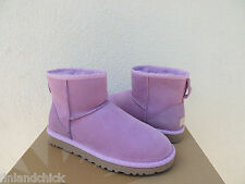UGG JELLYFISH CLASSIC MINI SCALLOP SUEDE/ SHEEPSKIN BOOTS, US 7/ EUR 38 ~NEW