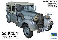 MASTER BOX™ 3530 WWII German Staff Car Sd.Kfz.1 Type 170 VK in 1:35