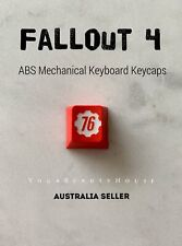Fallout Shelter 76 ABS Mechanical Keyboard Keycaps (oem cherry mx razer gaming)