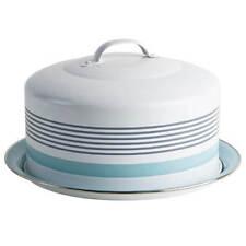 Jamie Oliver Vintage Cake Tin Large Blue Storage Holder Bake Keeper Quality Gift