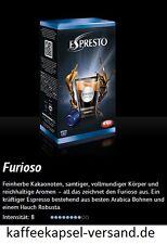 K-fee Espresto - FURIOSO ESPRESSO - 6x16=96 Kapseln - passend zu Aldi Expressi