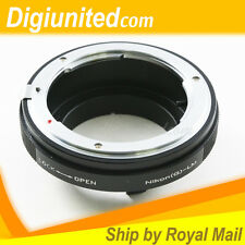 Nikon F mount G AF-S DX lens to Leica M L/M LM mount adapter M240 M6 M7 M8 M9