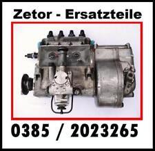Zetor Schlepper Super Traktor Pumpe  Ersatzteile ( Einspritzpumpe  +  AT )
