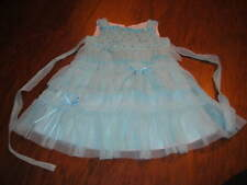 BOUTIQUE KATE MACK 18M 18 MONHS BLUE GROGEOUS DRESS