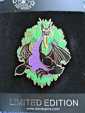 Disney Villains sleeping beauty Flaming Maleficent Dragon Jumbo pin LE