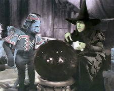 "Margaret Hamilton Wizard Of Oz 1939 Actress 4x6"" Hand Color Tinted Photograph"