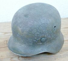 M 40 Helm der Luftwaffe mit Rautarn und Farbe