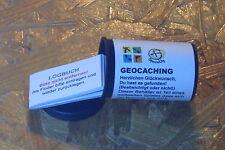 Geocaching Geocache- Filmdose- Micro+Logbuch+wasserfestem Aufkleber (StashNote)