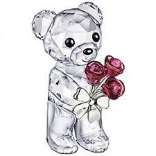 Swarovski Kris Bear #1096731 Red Roses For You Brand Nib Flowers Love Save$ F/S