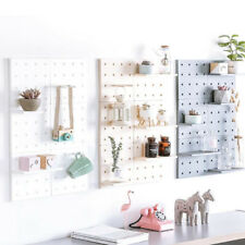 Wall Mounted Plastic Shelf Holder Kitchen Bathroom Storage Rack Organizer SO