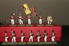 25mm Napoleonic British 44th East Essex Foot, Battalion Company, 12 Figures