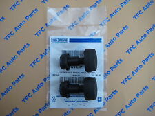 Ford Focus Escape C-Max RH or LH Black Rubber Hood Stopper Rubbers OEM Set of 2