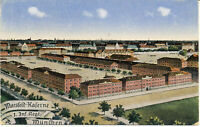 AK München, Marsfeld-Kaserne, 1.Inf. Regt.; gel. am 18.8.1917 per Feldpost