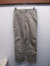 Patagonia Women's Boyfriend Straight Beige pants Jeans sz 4 100% Organic Cotton