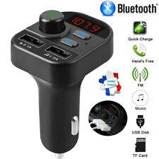 FR Bluetooth 5.0 Voiture Transmetteur FM Kit MP3 Player USB Chargeur Mains Libre
