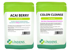120 Acai Berry Extract Extreme 120 Colon Cleanse Detox Combo Slimming Dieting