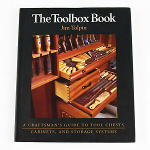 The Toolbox Book Jim Tolpin (1998 SC) Tool Chest Cabinet Storage System Guide