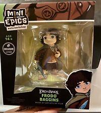 Weta Workshop Mini Epics #1 - Frodo Baggins - Lord of the Rings Vinyl Figure New