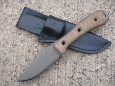 Swamp Rat Knife Works Rodent Solution RS Knife Custom Molded Leather Sheath BLK