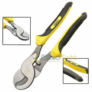 "10"" Inch Heavy Duty Cable Cutter Wire Hose Plier Electrical Pliers Steel EZ Grip"