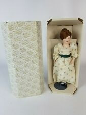 Franklin Mint Heirloom Little Maids 13 Colonies Doll Polly Of Delaware