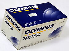 BNIB Olympus TRIP 500 P&S 35mm Film Compact Camera c/w Manual, Case & Straps