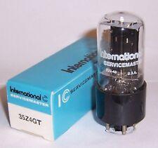 NEW IN BOX INTERNATIONAL 35Z4GT AC / DC RADIO RECTIFIER TUBE / VALVE