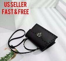 New womens handbags Shoulder Bags black jelly pvc matte bag