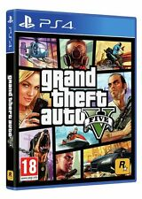 Grand Theft Auto GTA V 5 (PS4) *Brand New & Sealed*