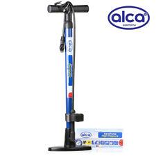 Bicicleta De Mano piso sólido Bomba de Aire Manómetro 7 Bar 100 Psi Acero presta shrader