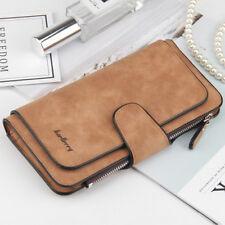 US FAST Women Leather Clutch Long Wallet Card Holder Purse Handbag Envelope Bag