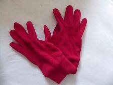 Paire de gants rouges Quechua taille M