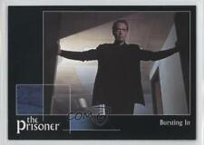 2002 Cards Inc The Prisoner Autograph Series #3 Bursting In Non-Sports Card 0f8