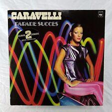 CARAVELLI Parade Succes EX Vinyl CBS 22094 Instrumental 2xLP Import France 1979