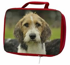 More details for welsh fox terrier dog insulated red school lunch box/picnic bag, ad-ft4lbr