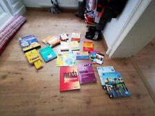 Spanisch lernen Bücher CDs Wörterbuch Sammlung Schule Studium
