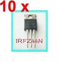 10pcs 55V 49A IRFZ44N IRFZ44 Power Transistor MOSFET N-Channel