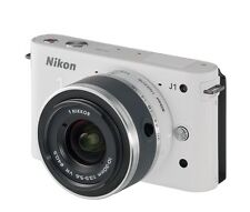 Nikon 1 J1 10.1MP Digital Camera - White (Kit w/ VR 10-30mm Lens) (27528)