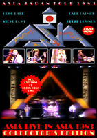 ASIA LIVE IN ASIA 1983 1DVD FOXBERRY FBVD-048 ONLY TIME WILL TELL TIME AGAIN