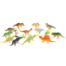 Pack of 12 Pieces Plastic Jurassic Dinosaur Figure Toy Set Kids Xmas Gift