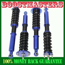 For 06-13 Lexus IS250 IS350 RWD ONLY Adj Coilover Suspension Lowering BLUE