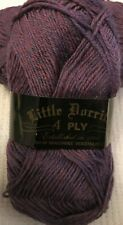 KingCole Little Dorrit 4 Ply Sock Yarn 655 Heather 5x50g&*FREE KNITTING PATTERN*