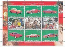 Republique De Guinee Guinea 1998 ENZO FERRARI CARS MNH Sheet of 9 [D1060]