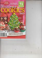 Betty Crocker Christmas Cookies 72 Recipe Cards with Photos 2012 Cookbook