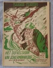 Vlaamse Filmkens N°279 Het Duivelsvuur vav schiermonnikoog Averbode